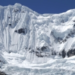 ペルー・ブランカ山群:ワンツァンの大氷壁