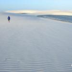風の造形「風紋」/ブラジル・レンソイス砂漠