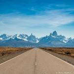 パタゴニア/フィッツロイ峰を遠望する撮影ベストポイント