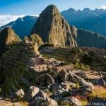 ペルー・マチュピチュ遺跡で望む神秘的景観、朝日と夕日