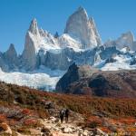 パタゴニアのフィッツロイ峰を望む撮影ベスト・ポイント