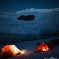 南極大陸の氷上キャンプ:ペンギンとともに眠る極上体験