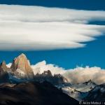 真夏のパタゴニア:フィッツロイ峰で望む長い長い夕日