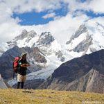 アンデスの氷雪峰が集まる、大展望のブランカ山群:ペルー