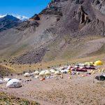南米最高峰アコンカグアへ②:ベースキャンプ -コンフルエンシア
