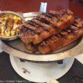 アルゼンチン伝統料理:牛肉のアサードと大草原パンパ