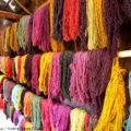 ペルー・インカ極彩色の民族衣装:天然染料の手織物