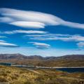 パタゴニアの風が創る空の絶景:レンズ雲