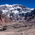 南米最高峰アコンカグア:南壁を望む大展望の谷へ