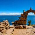 """インカの伝統を守るタキーレ島/""""天空の湖""""チチカカ湖(ペルー側)①"""