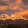 ペルー・ブランカ山群:黄昏時の農村風景と生活の「音」