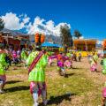 アンデスの小さな村のお祭り:ワスカラン国立公園