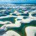 """狂おしい""""地球の鼓動""""①:レンソイス砂漠の空撮写真"""