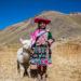 アンデス高原の民族衣装:インカ直系の子孫、ケチュア族とアイマラ族