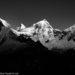 《山岳写真》ペルー・ブランカ山群の名峰ワンドイの朝日